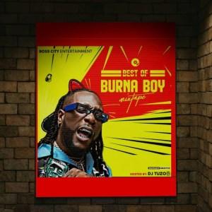 DJ Tuzo - Best Of Burnaboy
